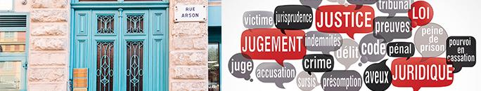 rue arson et schéma de la justice - Association Montjoye